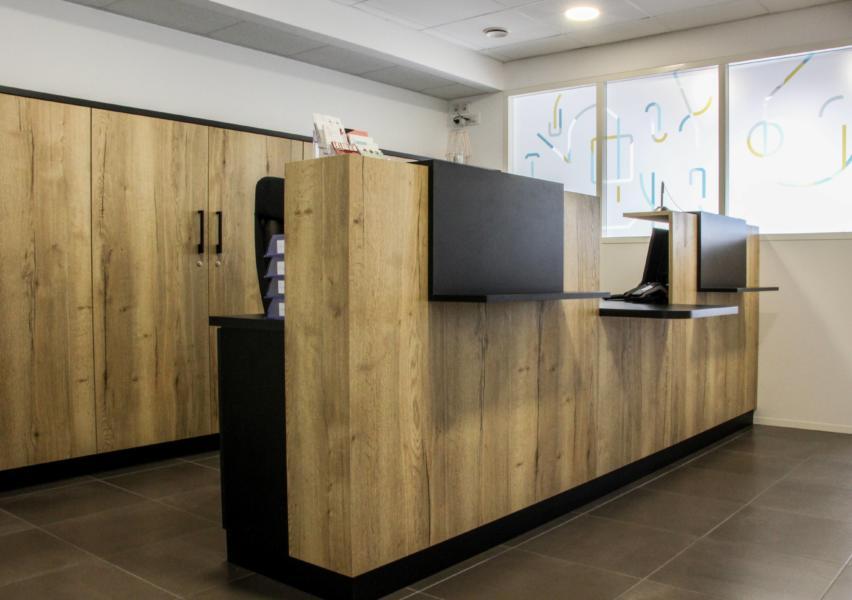 aménagement espace de santé rezé